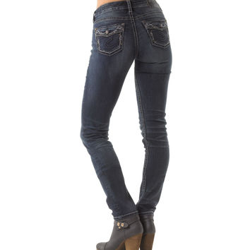 Silver Suki High Pencil Skinny Jean