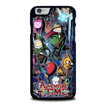 adventure time legend of zelda iphone 6 6s case cover  number 1