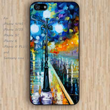 iPhone 5s 6 case watercolor tree lighting dream catcher colorful phone case iphone case,ipod case,samsung galaxy case available plastic rubber case waterproof B582