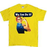 Rosie The Riveter -- Unisex T-Shirt