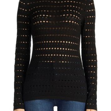 J Brand Colony Open Stitch Sweater | Nordstrom
