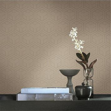 Embossed Non Woven Wallpaper Roll Desktop Floral Wallpaper Europe Vintage Simple Home Decor Grain Kitchen Wall papers Wall Art