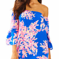 Sanilla Off The Shoulder Silk Dress | 25931 | Lilly Pulitzer