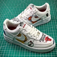 Supreme x NBA x Nike Air Force AF1 Low 1 Sport Basketball Shoes - Best Online Sale
