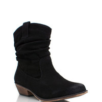 slouchy-suede-cowgirl-booties BLACK BLUE MUSTARD - GoJane.com