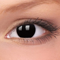 Black Out Contact Lenses | Blackout Crazy Contact Lenses (Pair)