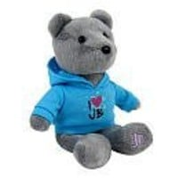 Justin Bieber Official Signature Grey Bear - I Love Justin Bieber Shirt