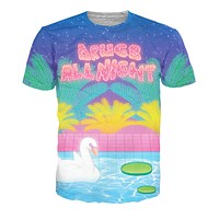 Drugs All Night T-Shirt