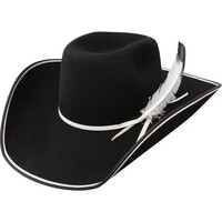 Resistol 89 Legend B 3X Tuff Hedeman Black Felt Hat