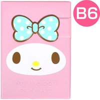 2015 My Melody Schedule Book Weekly Planner Agenda Magnetic Hard Cover Sanrio B6