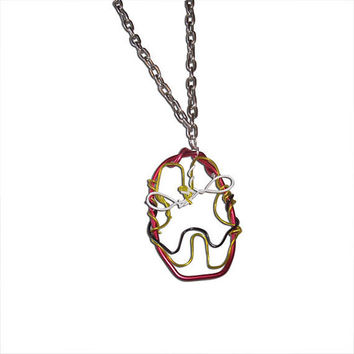 Avengers Jewelry - Iron Man Wire and Chainlink Necklace