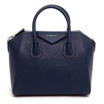 Givenchy Antigona Small Navy Bag