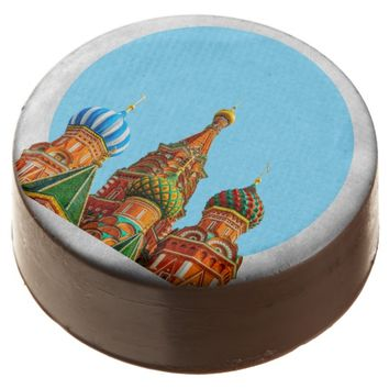 St. Basil's cathedral Chocolate Dipped Oreo