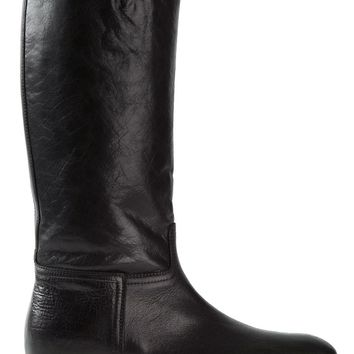 Ann Demeulemeester 'Marble' mid-calf boots