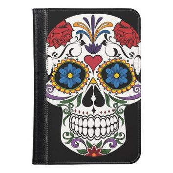 Colorful Sugar Skull iPad Mini Case