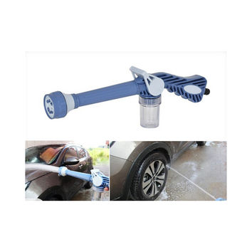 Garden Car Wash Spray Gun With Soap Dispenser Cannon 8 in 1 Nozzle Multi Function