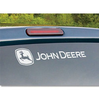 Chroma 8058 John Deere White Rear Window Graphix Decal