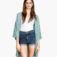 Twill Shorts High Waist - from H&M