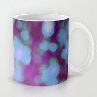 Purple Bokeh Mug - Coffee Mug - Bokeh Photography Purple - Made to Order