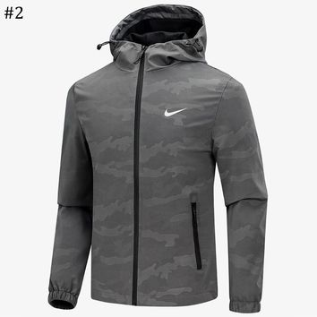 NIKE 2018 spring and autumn new men's casual hooded jacket #2