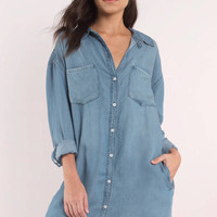 Thread & Supply West Coast Denim Button Down Shirt