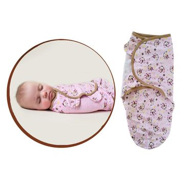 0-3 M  Swaddle Soft Baby Sleeping Blanket