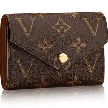 Practical Compact wallets 2019 Victorine Zippy coin purse real Leather Pocket Organizer