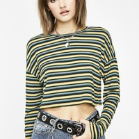 Kush Bad Influence Cropped Top