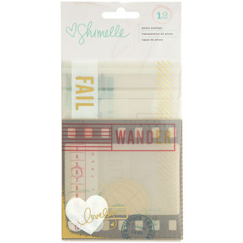 Shimelle Photo Overlays 12/Pkg-