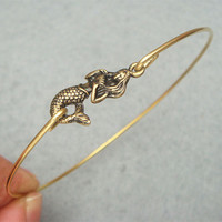 Mermaid Bangle Bracelet Style 3 on Luulla