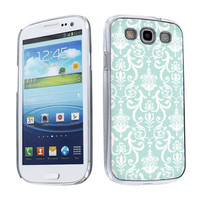Samsung galaxy s3 Case Vintage Flow Snap-on Hard Plastic Case in 2 colors