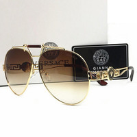 Versace Women Casual Summer Sun Shades Eyeglasses Glasses Sunglasses H