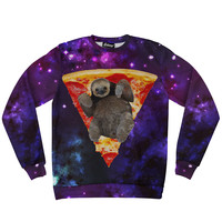 Pizza Sloth Sweatshirt