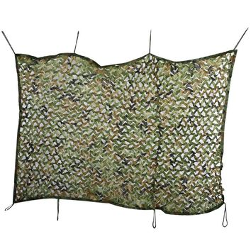 2x3M Woodland Oxford Camo Military Hunting Camping Tent Car Cover Awning Shelter Sunshade Camouflage Net Markise Sonnenschirm