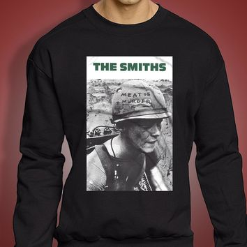 The Smiths Meat Is Murder Alternative Rock Men'S Sweatshirt