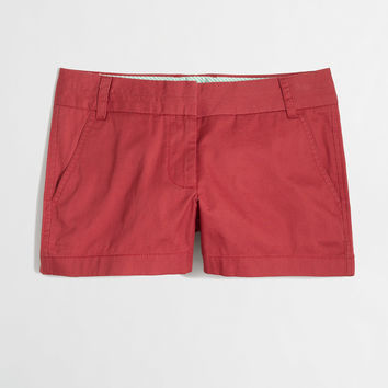 """Factory 3"""" chino short : 80 And Sunny Shop   J.Crew Factory"""