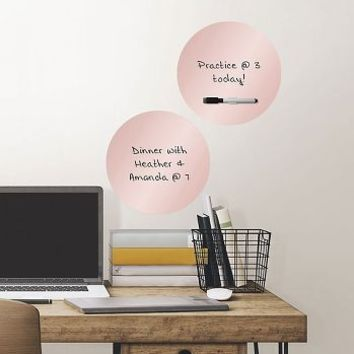 Rose Gold Foil Dry Erase Dots