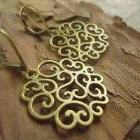 MIRACLES ORNAMENT vintage EARRINGS & Wires