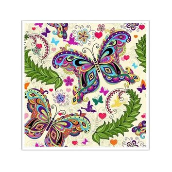 5D Diamond Painting Butterfly Abstract Pattern Kit