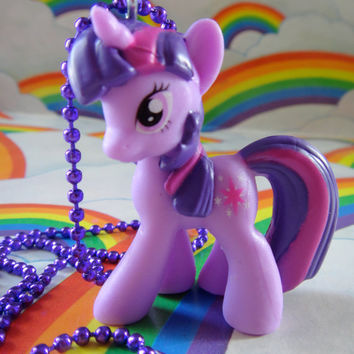 My Little Pony Necklace- Twilight Sparkle