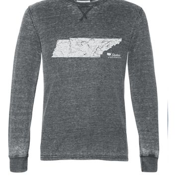 Tennessee Rivers and Lakes Unisex Thermal