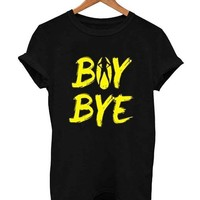 beyonce boy bye yellow T Shirt Size S,M,L,XL,2XL,3XL