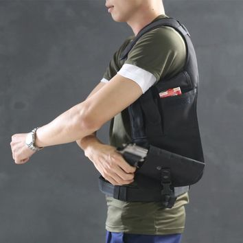 Tactical  Anti-thief Hidden Security Multi Bag Underarm Shoulder Armpit Bag pistol Holster Portable for Phone Money Passport