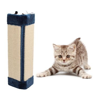 Sisal Cat Scratch Board cat Toy Kitten Scratcher Mat Pad Interactive cat Toy for Pet dog Training cat scratching post scratcher