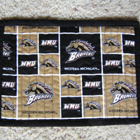 4 Halloween and Western Michigan University WMU Snack Mats Buy 1, 2, 3 or 4