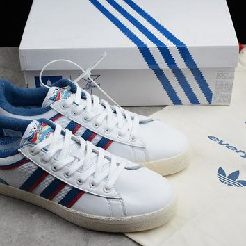 """Adidas x Alltimers """"White&Blue"""" Running Shoes CG5128"""
