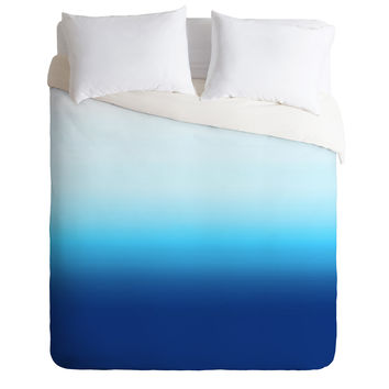 Natalie Baca Under The Sea Ombre Duvet Cover