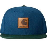 Navy/Bottle Green Neal Started Cap