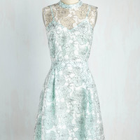 Unfalteringly Feminine Dress in Sky | Mod Retro Vintage Dresses | ModCloth.com