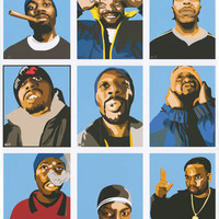 Wu-Tang Clan Pop Art Poster 24x36